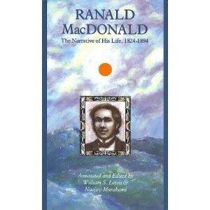 9780875952291: Ranald Macdonald: The Narrative of His Life