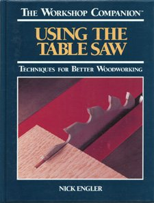 9780875961279: Using the Table Saw: Techniques for Better Woodworking (The Workshop Companion)