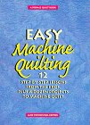 Easy Machine Quilting - 12 Step-by-Step Lessons