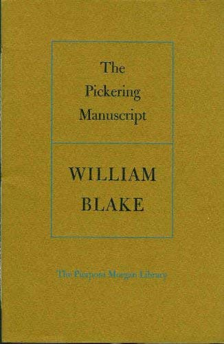 9780875980362: The Pickering manuscript