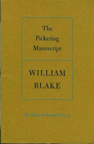 9780875980362: The Pickering manuscript