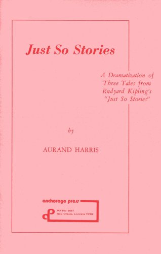 9780876021453: Just So Stories: Play