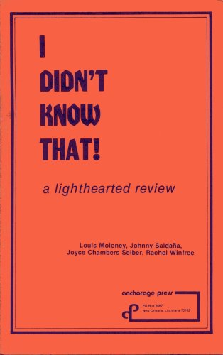 9780876022603: I Didn't Know That! a lighthearted review