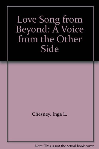 9780876043387: Love Song from Beyond: A Voice from the Other Side