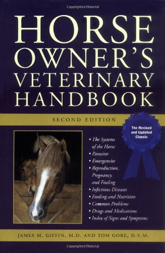 9780876056066: Horse Owner's Veterinary Handbook (Howell reference books)