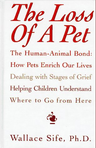 9780876056257: The Loss of a Pet