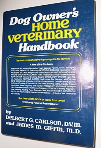 9780876057643: Dog Owner's Home Veterinary Handbook