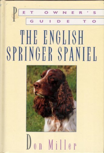 9780876059203: Pet Owner's Guide to the English Springer Spaniel