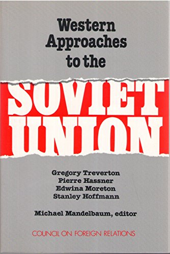 9780876090480: Western Approaches to the Soviet Union