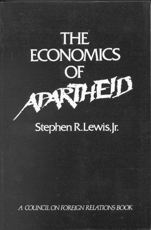 9780876090565: The Economics of Apartheid