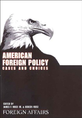 9780876093320: American Foreign Policy: Cases And Choices