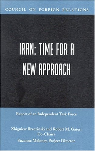 9780876093450: Iran: Time for a New Approach