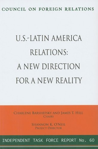 9780876094112: U.S.-Latin America Relations: A New Direction for a New Reality (Council on Foreign Relations (Council on Foreign Relations Press))