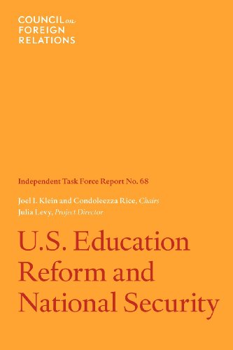 9780876095201: U.S. Education Reform and National Security: Independent Task Force Report