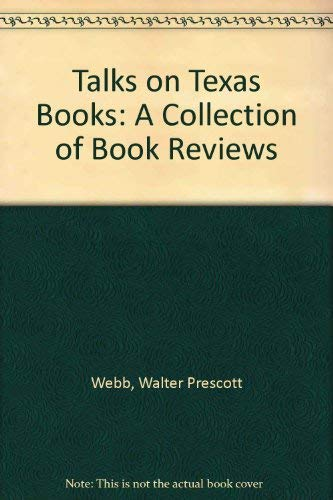 9780876110249: Talks on Texas Books: A Collection of Book Reviews