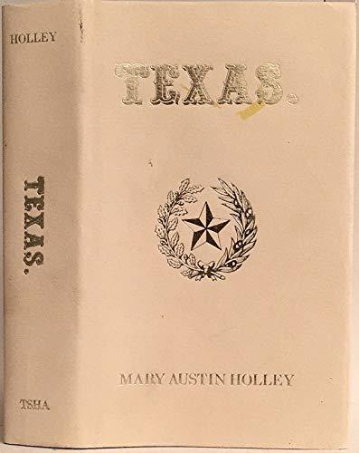 9780876110751: Texas (Fred H. & Ella Mae Moore Texas History Reprint Series)