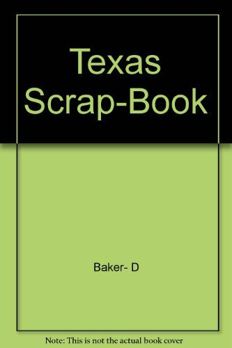 9780876111093: Texas Scrap-Book