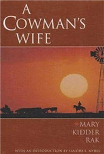 9780876111260: A Cowman's Wife (Degolyer Library Cowboy & Ranch Life Series)