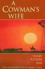 9780876111277: A Cowman's Wife (Degolyer Library Cowboy and Ranch Life)