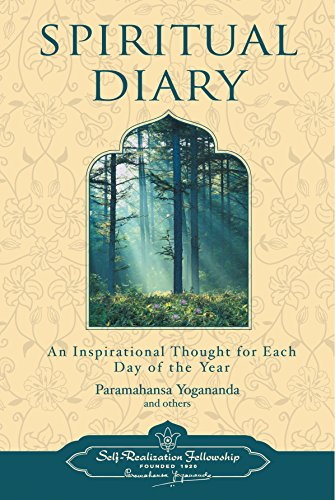 9780876120231: Spiritual Diary: An Inspirational Thought for Each Day of the Year (Self-Realization Fellowship)