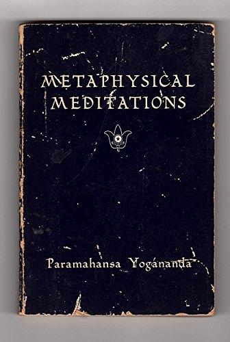 9780876120446: Metaphysical Meditations