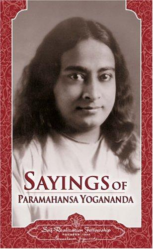 9780876121153: Sayings of Paramahansa Yogananda