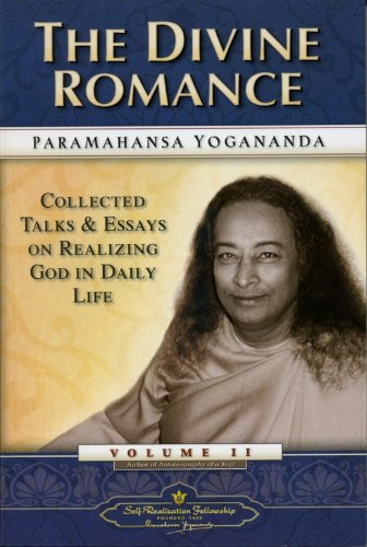 9780876122402: The Divine Romance: Collected Talks and Essays - Volume 2 (Self-Realization Fellowship)