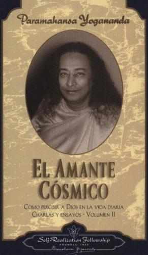 9780876122433: EL AMANTE COSMICO (Charlas Y Ensayos)