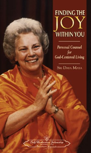 9780876122884: Finding the Joy Within You Personal Counsel for God Centered Living: Personal Counsel for God-Centered Living