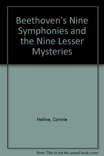 9780876130001: Beethoven's Nine Symphonies and the Nine Lesser Mysteries