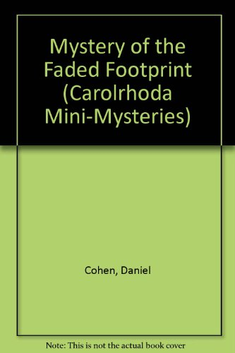 The Mystery of the Faded Footprint: Dan Cohen