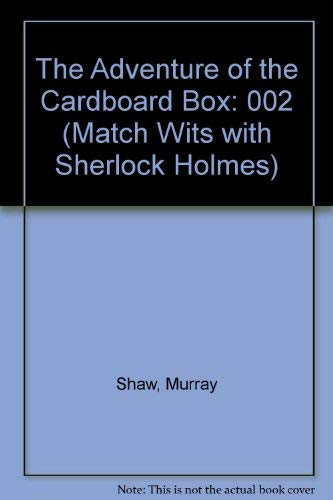 9780876145296: The Adventure of the Cardboard Box: 002 (Match Wits with Sherlock Holmes)