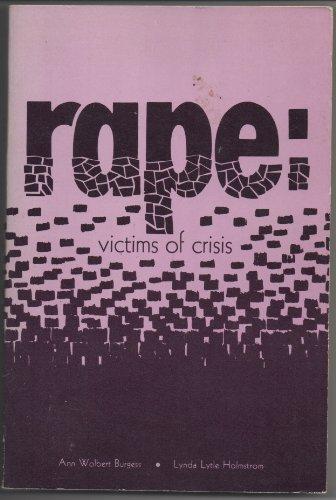 9780876180020: Rape: Victims of Crisis