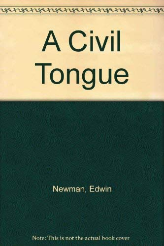 9780876180501: A Civil Tongue