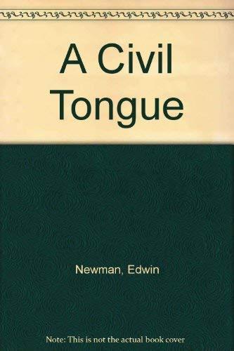 9780876180501: A Civil Tongue