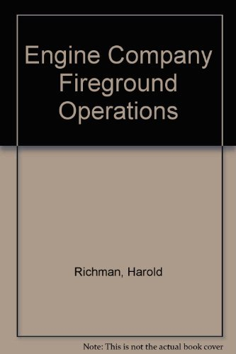 9780876182307: Engine Company Fireground Operations (Brady's fire fighting series)