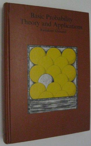 9780876201015: Basic Probability Theory and Applications (Goodyear mathematics series)