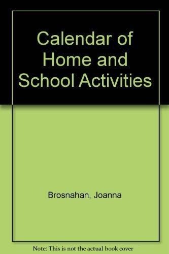 9780876201411: Calendar of Home and School Activities