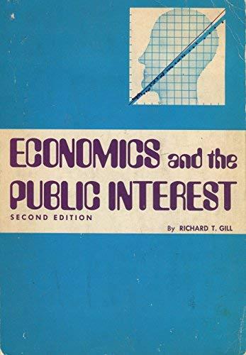 9780876202531: Economics and the public interest,