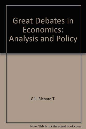 9780876203699: Great Debates in Economics