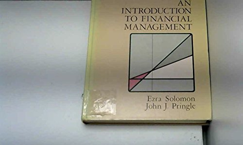 9780876204061: Introduction to Financial Management