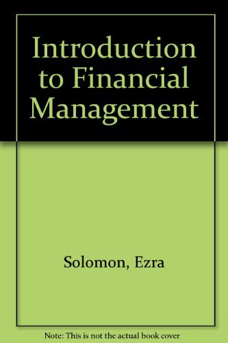 9780876204757: Introduction to Financial Management