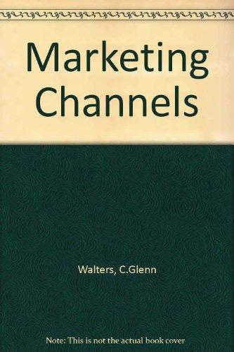 9780876205716: Marketing Channels