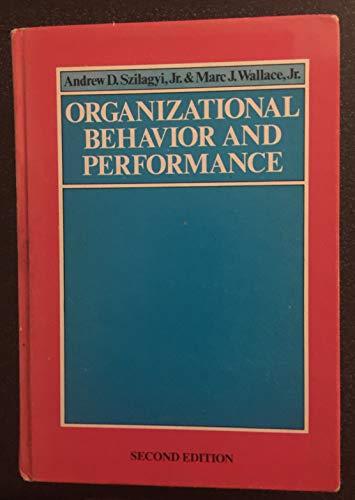 9780876206157: Organizational Behaviour and Performance