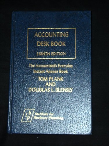 9780876240113: Accounting Desk Book: The Accountant's Everyday Instant Answer Book