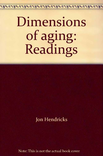 9780876261804: Dimensions of aging: Readings