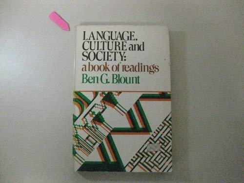9780876264898: Language, Culture, and Society: A Book of Readings