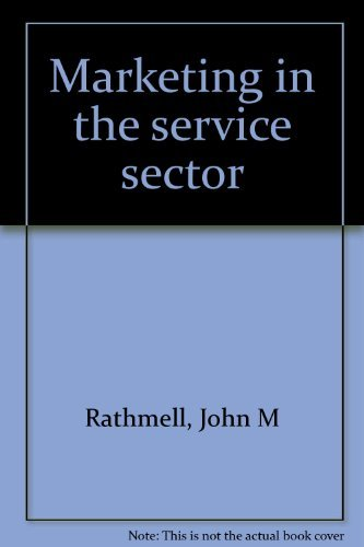 9780876265611: Marketing in the service sector