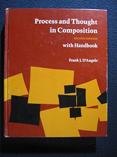 9780876266458: Process and thought in composition: With handbook
