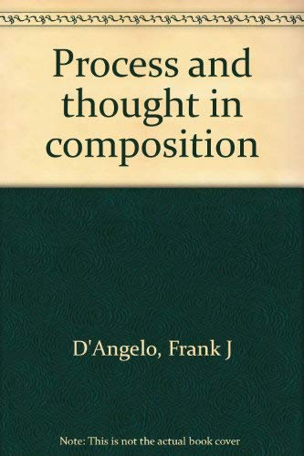 9780876266731: Process and thought in composition
